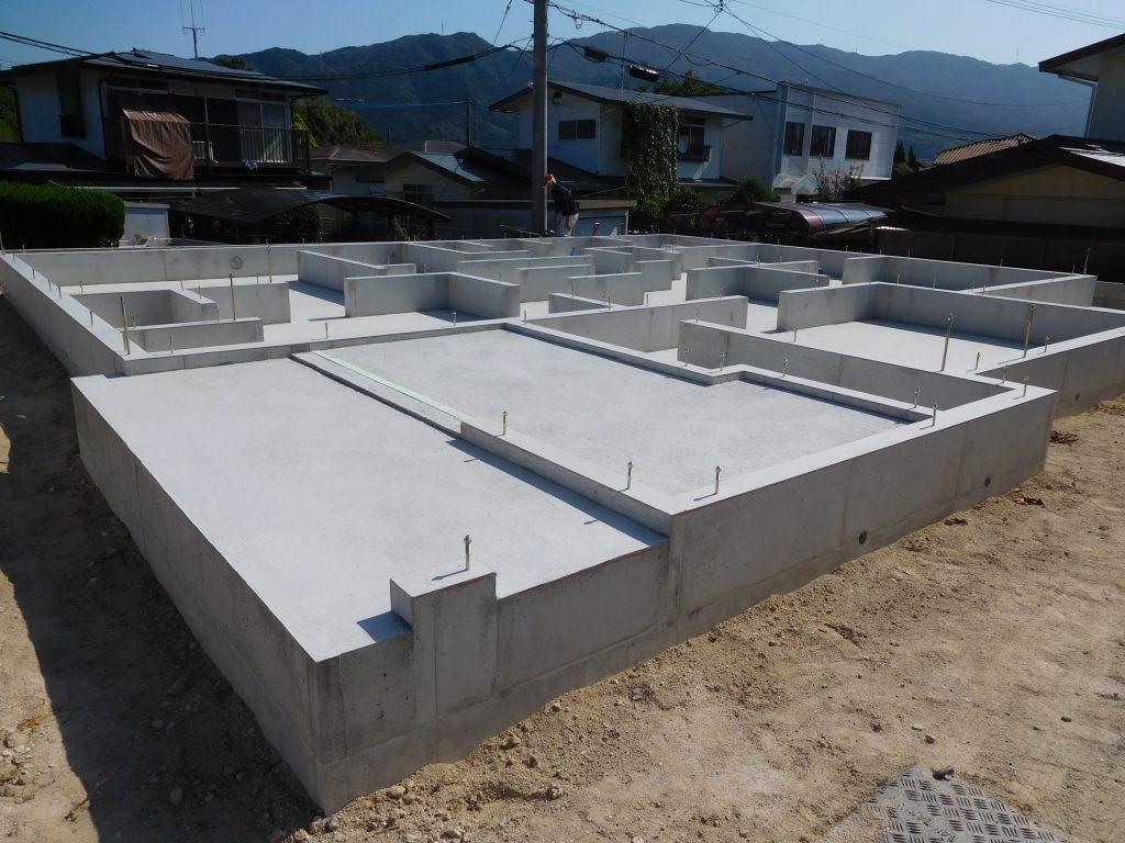 基礎工事完了 長期優良住宅のベストホーム
