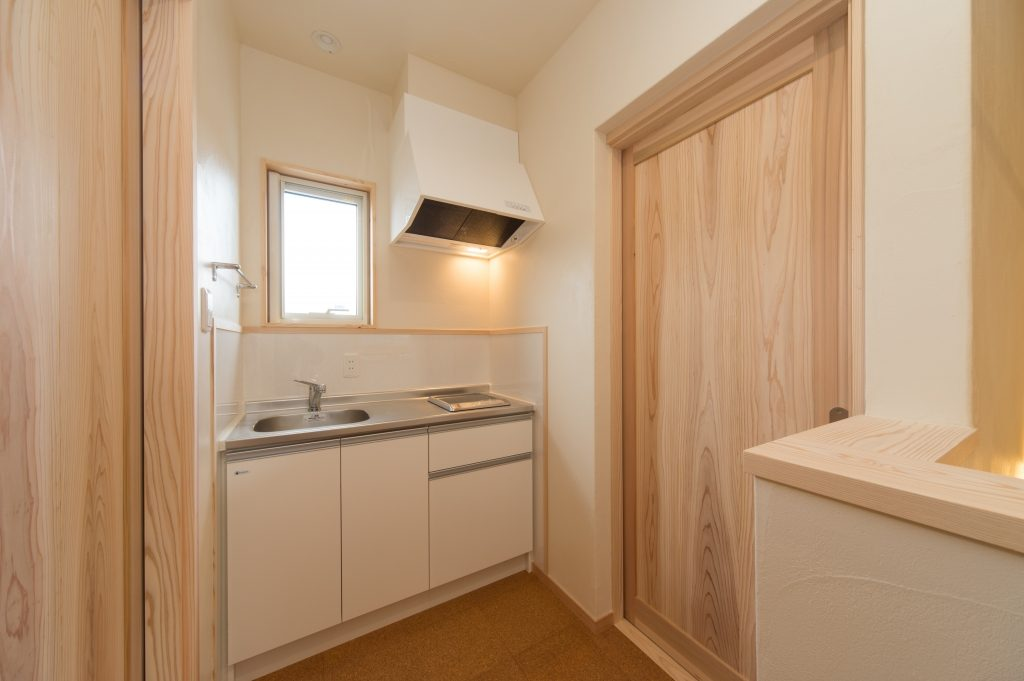 2階に便利なセカンドキッチンを設置