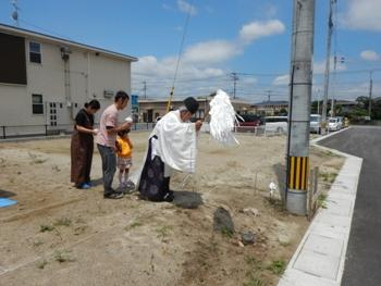 地鎮祭福岡の工務店ベストホーム