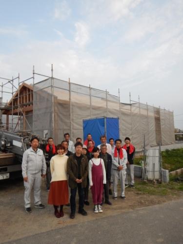 神埼市にて上棟式 注文住宅のベストホーム